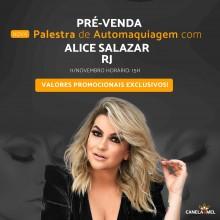 Palestra Automaquiagem Alice Salazar Rio de Janeiro