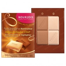 Delice de Poudre Duo Bronzeador/Iluminador - Bourjois